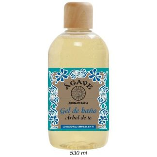Gel de Baño de Árbol de Té Ágave - 530 ml.
