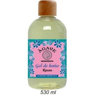 Gel de Baño de Rosas Ágave - 530 ml.