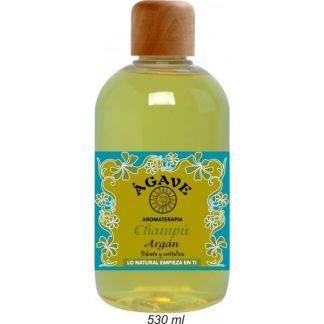 Champú Hidratante de Argán Ágave - 530 ml.