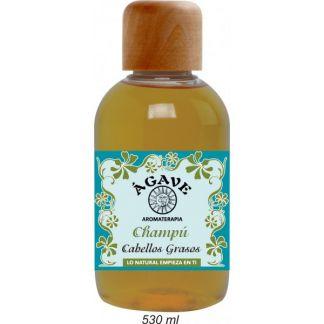 Champú Cabellos Grasos Ágave - 530 ml.