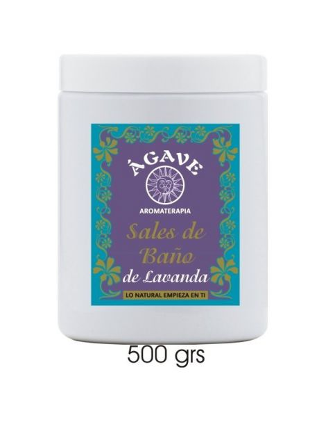 Sales de Baño Lavanda Ágave - 500 gramos