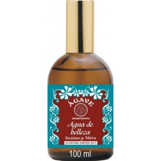 Agua de Belleza Incienso y Mirra Ágave - vaporizador 100 ml.