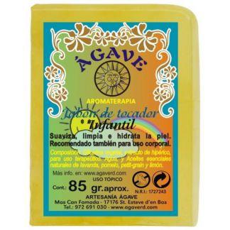 Jabón de Tocador Infantil Ágave - 85 gramos