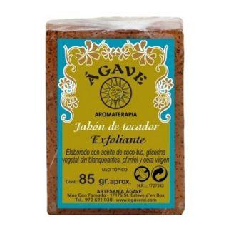 Jabón de Tocador Exfoliante de Miel y Cera Ágave - 85 gramos