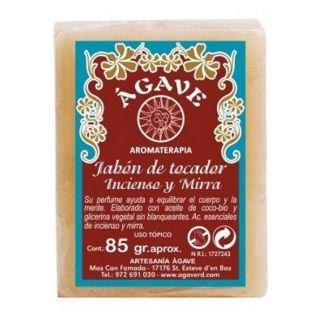 Jabón de Tocador de Incienso y Mirra Ágave - 85 gramos