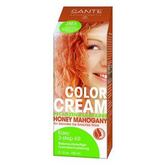 Crema Colorante Capilar Rubio Miel Sante - 150 ml.