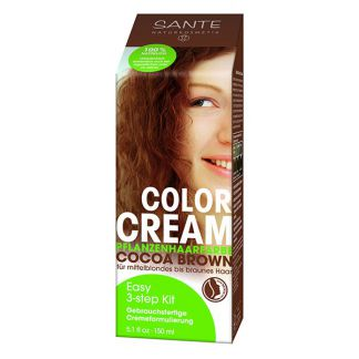 Crema Colorante Capilar Chocolate Sante - 150 ml.
