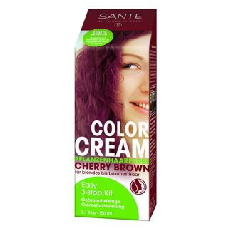 Crema Colorante Capilar Cereza Sante - 150 ml.