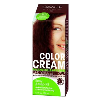 Crema Colorante Capilar Caoba Sante - 150 ml.