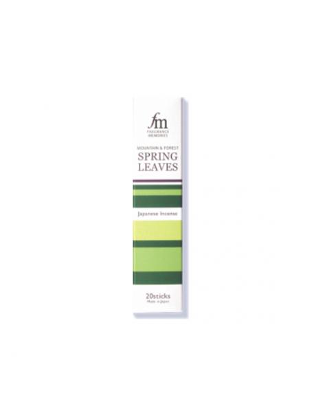 Incienso Spring Leaves (La Vuelta al Mundo) - caja 20 barritas