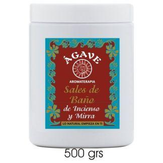 Sales de Baño Regeneradoras de Incienso y Mirra Ágave - 500 gramos