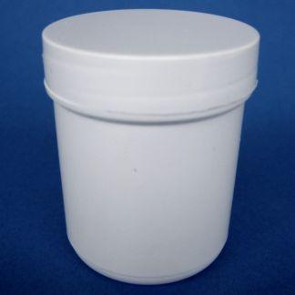 Tarro de Plástico Blanco Cilíndrico - 50 ml.