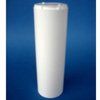 Frasco de Plástico Blanco Tubo - 100 ml.