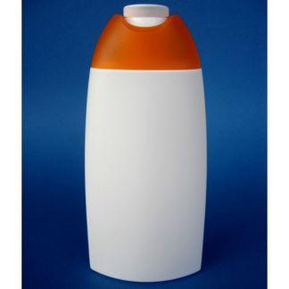 Frasco de Plástico Blanco Champú - 250 ml.
