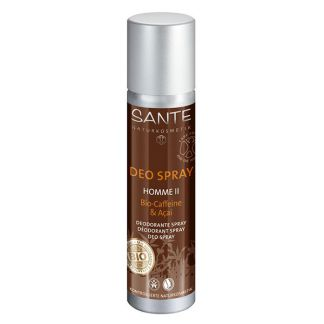 Desodorante Spray Hombre II Cafeína & Açai Bio Sante - 100 ml.