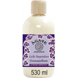 Leche Limpiadora Desmaquillante Ágave - 530 ml.
