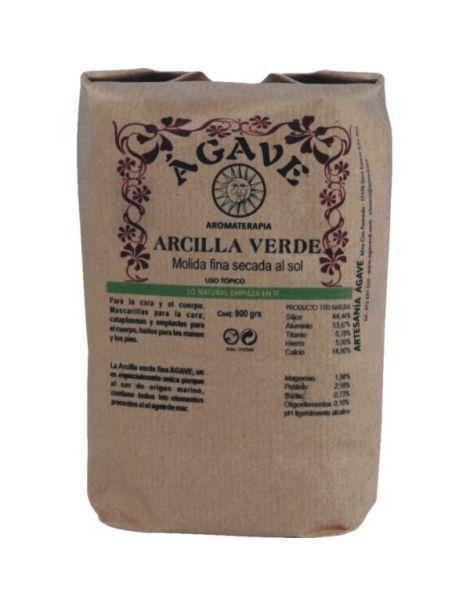 Arcilla Verde Ágave - 900 gramos