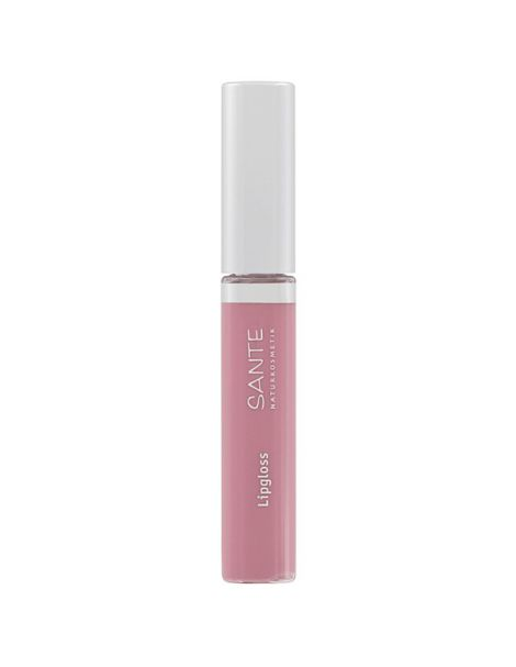 Brillo de Labios Nude Rose 01 Sante - 8 ml.
