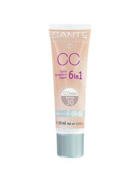 Maquillaje CC Corrector del Color Bronze 30 Sante - 30 ml.