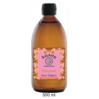 Hidrolato de Rosa Búlgara Bio Ágave - 500 ml.