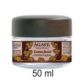 Crema Facial Antiarrugas Ágave - 50 ml.