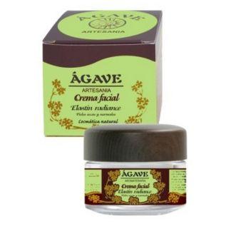 Crema Facial Piel Seca Elastín Ágave - 50 ml.