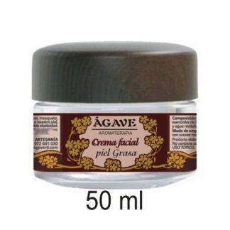 Crema Facial Piel Grasa Ágave - 50 ml.