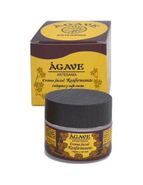 Crema Facial Reafirmante Ágave - 50 ml.
