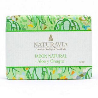 Jabón de  Aloe y Onagra Naturavia - 100 gramos
