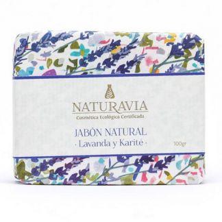 Jabón de Lavanda y Karité Naturavia - 100 gramos