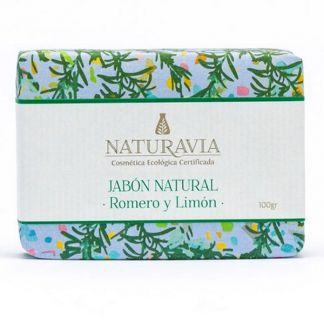 Jabón de Romero y Limón Naturavia - 100 gramos