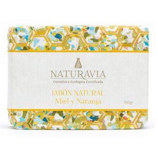 Jabón de Miel y Naranja Naturavia - 100 gramos