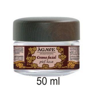 Crema Facial Piel Seca Ágave - 50 ml.