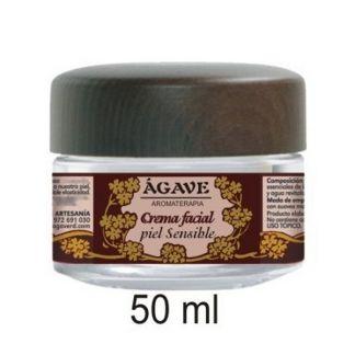 Crema Facial Piel Sensible Ágave - 50 ml.