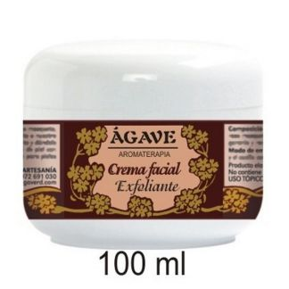 Crema Facial Exfoliante Ágave - 50 ml.