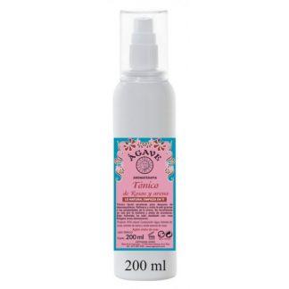 Tónico Facial de Rosas y Avena Ágave - 200 ml.