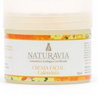 Crema Facial de Caléndula Naturavia - 50 ml.