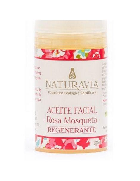 Aceite Facial de Rosa Mosqueta Regenerante Naturavia - 30 ml.