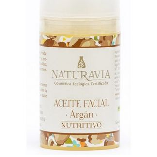 Aceite Facial de Argán Nutritivo Naturavia - 30 ml.