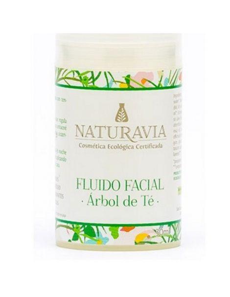 Fluido Facial de Árbol de Té Naturavia - 30 ml.