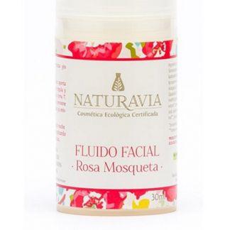 Fluido Facial de Rosa Mosqueta Naturavia - 30 ml.