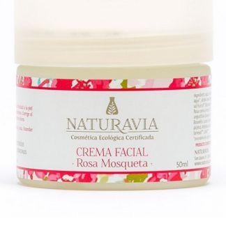 Crema Facial de Rosa Mosqueta Naturavia - 50 ml.