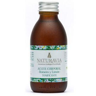 Aceite Corporal de Romero y Limón Tonificante Naturavia - 150 ml.