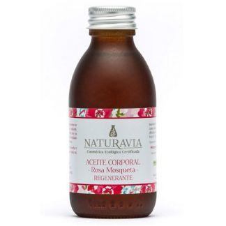 Aceite Corporal de Rosa Mosqueta Regenerante Naturavia - 150 ml.