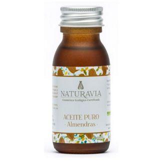 Aceite Puro de Almendras Dulces Bio Naturavia - 60 ml.