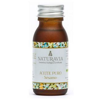 Aceite Puro de Sésamo Bio Naturavia - 60 ml.