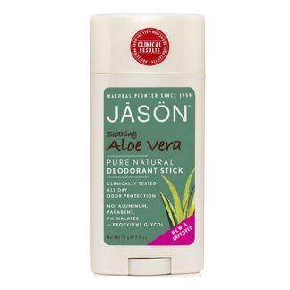 Desodorante Stick de Aloe Vera Jásön - 71 gramos