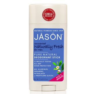 Desodorante Stick Naturally Fresh Hombre Jásön - 71 gramos
