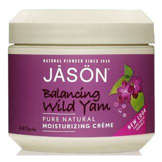 Crema de Ñame Salvaje (Wild Yam) Jásön - 113 gramos