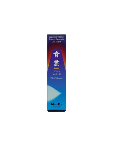 Incienso Seiun Gold (Quality Collection) - caja de 20 barritas